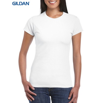 Picture of Gildan Softstyle Ladies T-Shirt White