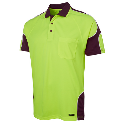 Picture of JBs Hi Vis S/S Arm Panel Polo