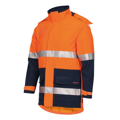 Picture of JBs Hi Vis (D+N) Soft Shell Industry Jacket