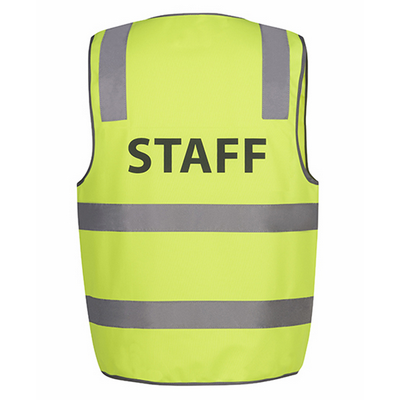 Picture of JBs Hi Vis D+N Safety Vest Staff