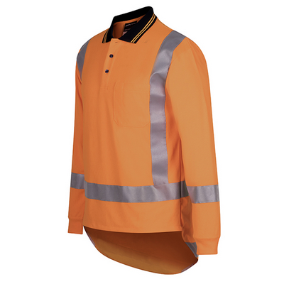 Picture of JBs Hi Vis (D+N) L/S Ttmc-W Traditional Polo