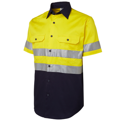 Picture of JBs Hi Vis (D+N) S/S 190G Shirt