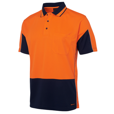 Picture of JBs Hi Vis S/S Gap Polo