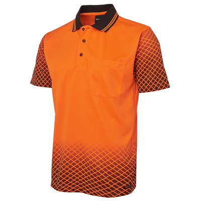 Picture of JBs Hi Vis Net Sub Polo