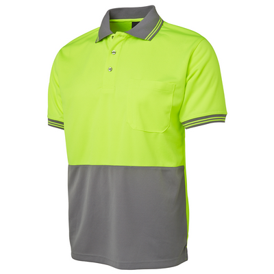 Picture of JBs Hi Vis S/S Traditional Polo