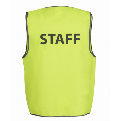 Picture of JBs Hi Vis Safety Vest Staff