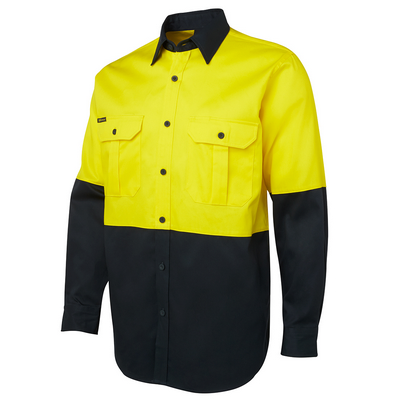Picture of JBs Hi Vis L/S 190G Shirt