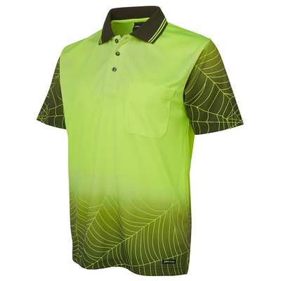 Picture of JBs Hi Vis S/S Web Polo