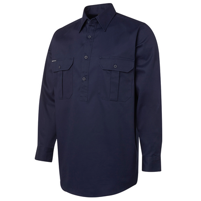 Picture of JBs L/S 190G Close Front Work Shirt