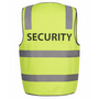 JBs Hi Vis D+N Safety Vest Security