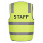 JBs Hi Vis D+N Safety Vest Staff