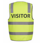JBs Hi Vis D+N Safety Vest Visitor
