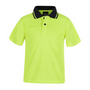 JBs Kids Hi Vis Non Cuff Traditional Polo