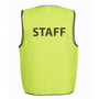 JBs Hi Vis Safety Vest Staff