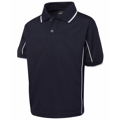 Picture of Podium Kids S/S Piping Polo
