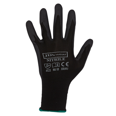Picture of JBs Black Nitrile Glove (12 Pack)