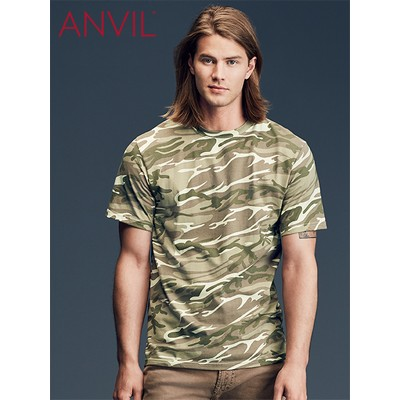 Picture of Anvil Adult Midweight Camouflage Tee Colours