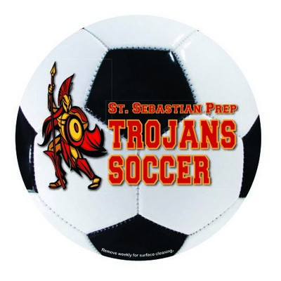 Picture of Soccer Car Sign Magnet