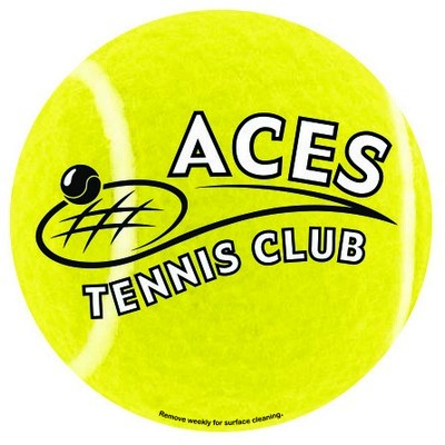 Picture of Tennis Car Sign Magnet