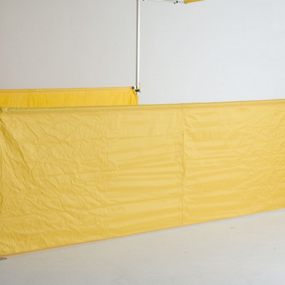 Picture of HALF WALL KITS - 3m COMPLETE WITH FRAME, MATERIAL & BRACKETS
