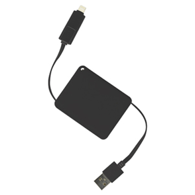 Picture of Brutus 2n1 Retractable Charge Cable (Stock)