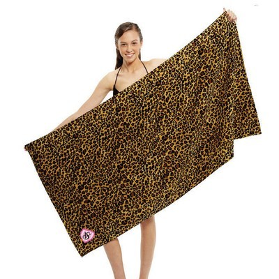 Picture of Leopard Print Beach Towel