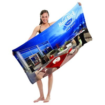 Picture of Microfibre Velour Beach Towel