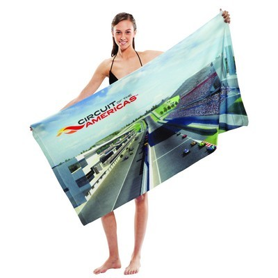 Picture of Subli-Cotton Terry Beach Towel