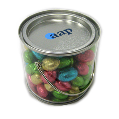 Picture of Medium Bucket Filled With Mini Easter Eggs x50, 400G