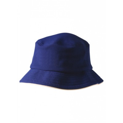 Picture of Pique Mesh With Sandwich Trim Bucket Hat
