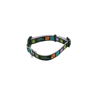 Picture of Detailed Woven Heavy Duty Collar sewen onto Polyester 25mm(w) x 72mm(L)