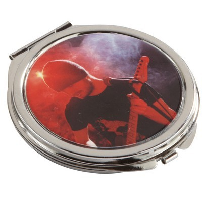 Picture of Round Metal Compact Mirror