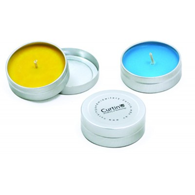 Picture of Unscented Pocket Travel Candle Tin