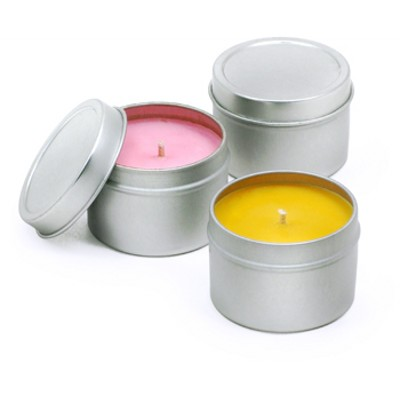 Picture of Scented Medium Travel Candle Tin