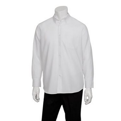 Picture of Men's White Oxford Dress Shirt