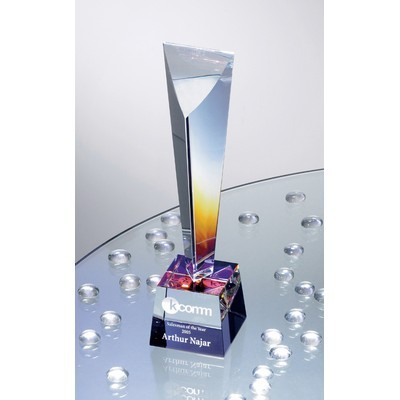 Picture of Arcobaleno Dichroic Crystal Award