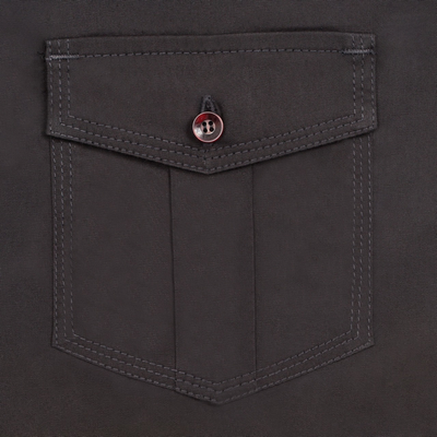 Picture of Men's Black Two Pocket Shirt