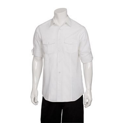 Picture of Men's White Two Pocket Shirt