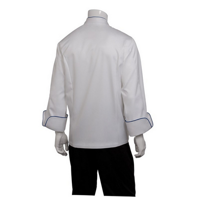 Picture of Carlton White 100% Cotton Chef Jacket