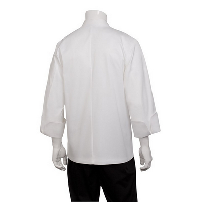 Picture of Milan White 100% Cotton Chef Jacket