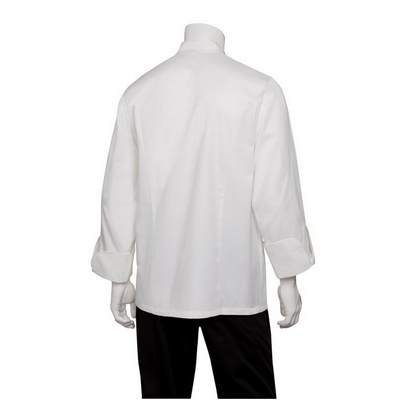 Picture of Madrid White 100% Cotton Chef Jacket