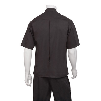 Picture of Palermo Black Cool Vent Chef Jacket