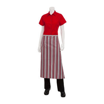 Picture of 3/4 Red/Grey/Black Apron