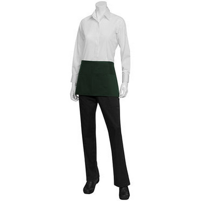 Picture of Three Pocket Green Waist Apron