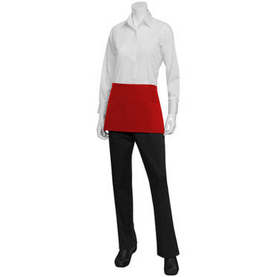 Picture of Three Pocket Red Waist Apron
