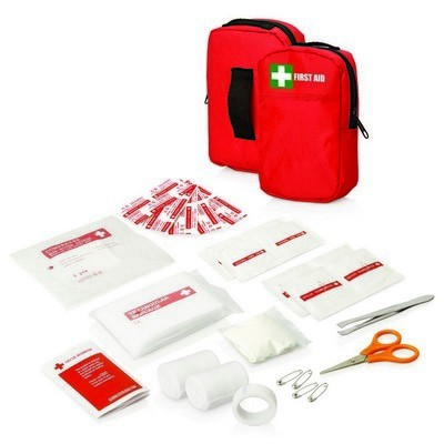 Picture of 30pc First Aid Kit - Belt pouch w/front pocket