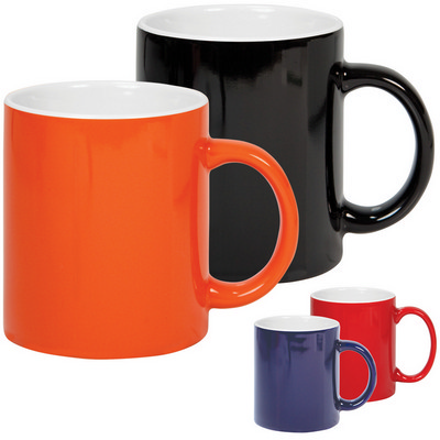 Picture of Ceramic mug two tone