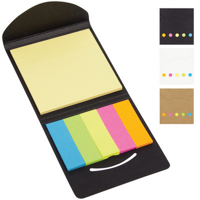 Picture of Sticky note pad and flag set