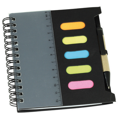 Picture of Mini Notebook with Pen & Ruler