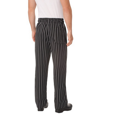 Picture of Chalkstripe Baggy Chef Pants